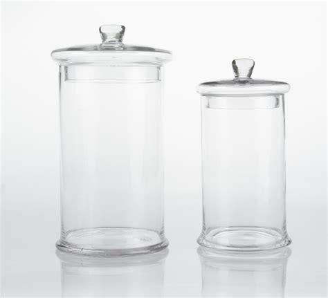 vasi di vetro con coperchio vasi e decori vasi cilindrici in vetro con coperchio