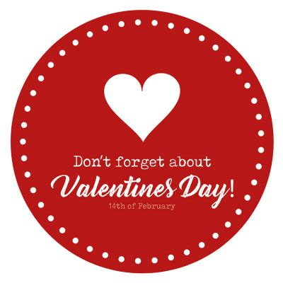 dont forget valentines day 500mm diameter don t forget valentines day r11 floor