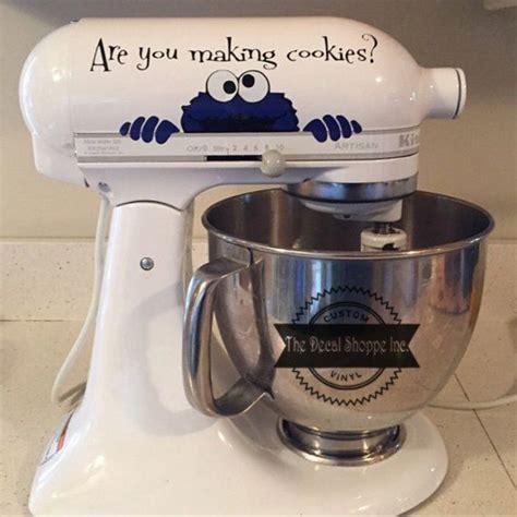 Cookie Monster Aufkleber by Mixer Aufkleber Cookie Monster Aufkleber Von