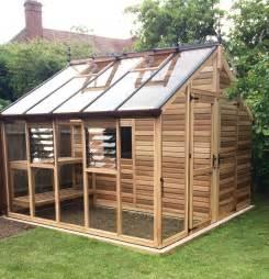 cedar centaur shed greenhouse combo 12x12 gardening