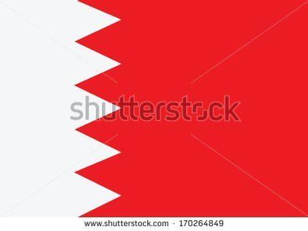 idea design bahrain bahrain flag themes idea design stock vector