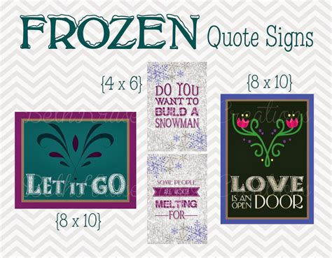 printable frozen quotes beth kruse custom creations do you want to build a snowman