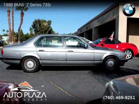 desert auto plaza 1988 bmw 7 series 735i auto plaza palm desert