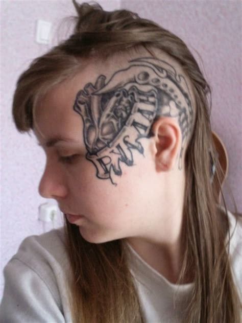 girls with face tattoos tatty s like whoa tattowmag