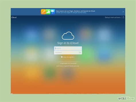 step membuat icloud 3 cara untuk menghapus apple id wikihow