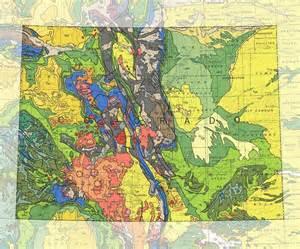 colorado geologic map colorado geologic map