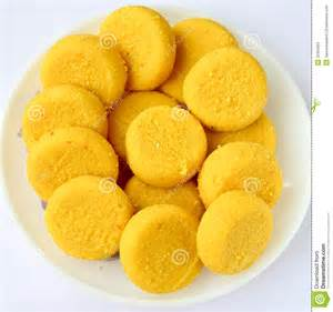 Peda indian sweet prepared out of milk product sugar and aromatic