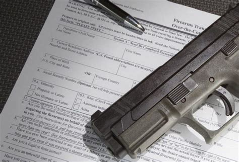 Firearms Background Check Federal State Background Checks For Firearms Issues And
