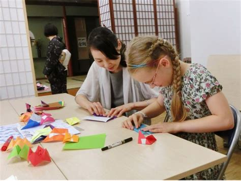 Origami Classes For - family friendly origami paper folding class in tokyo with
