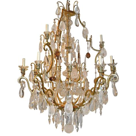 Big Chandelier For Sale Large Neoclassic Rock Chandelier For Sale At 1stdibs