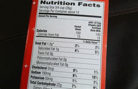 captain nutritional facts peanut butter captain crunch nutrition