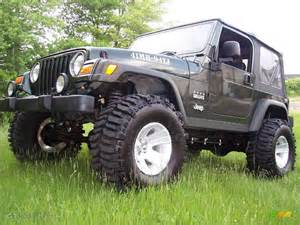Moss Jeep 2004 Moss Green Pearlcoat Jeep Wrangler Willys Edition 4x4
