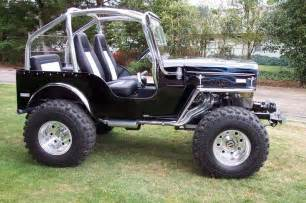Jeep Cj3b Customized Cj3b Roll Cage Design Willys