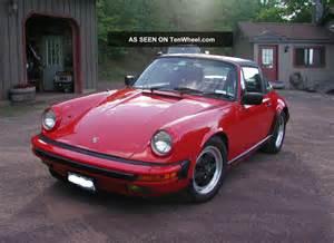 1986 Porsche 911 Targa 1986 Porsche 911 Targa 2 Door 3 2l