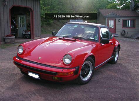 1986 porsche targa 1986 porsche 911 targa 2 door 3 2l