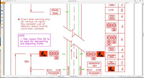 site traffic management plan template traffic management highway construction