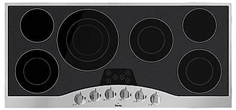 45 inch cooktop viking rvec3456bsb 45 inch electric cooktop with quickcook