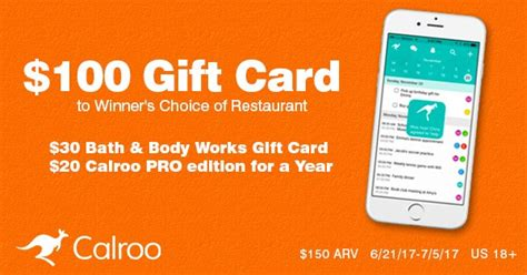 Restaurant Com Gift Cards Reviews - calroo 100 gift card of choice giveaway
