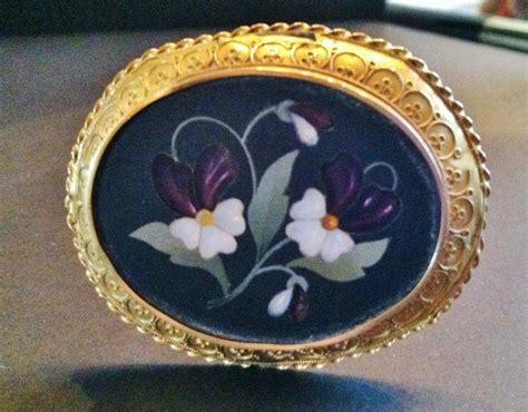 frame design bradenton fl antique hatpin pietra dura design 18kt frame ca 1870