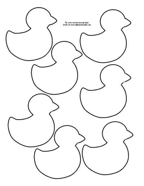 duck template duck outline pictures to pin on pinsdaddy