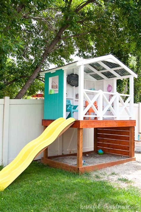 backyard clubhouse plans backyard clubhouse for kids outdoor goods