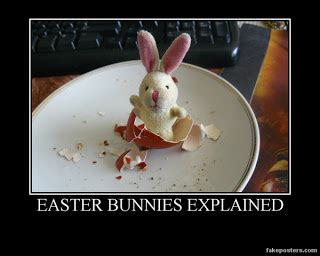 Chocolate Easter Bunny Meme - drunkethics