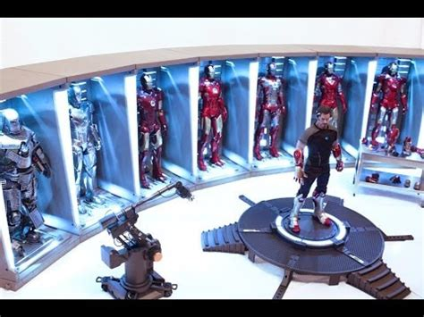 hot toys hall armor iron man youtube