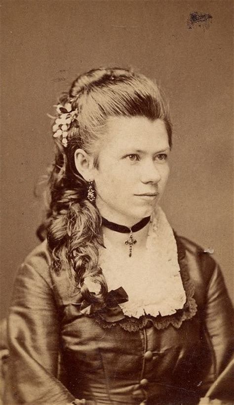 victorian hairstyles bangs a simple 1870s hairstyle tutorial and a review of mona
