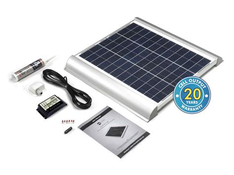 45 watt solar rooftop kit