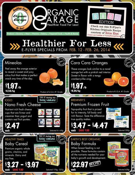 organic garage organic garage flyers
