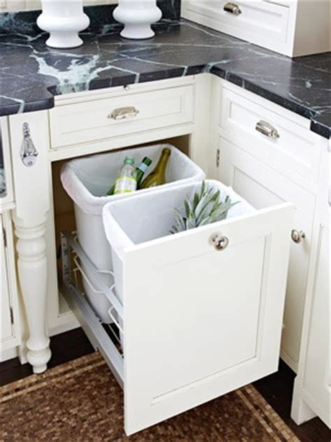 Hide Trash Can In Kitchen by Hide Your Garbage Cans Kitchen Pinterest