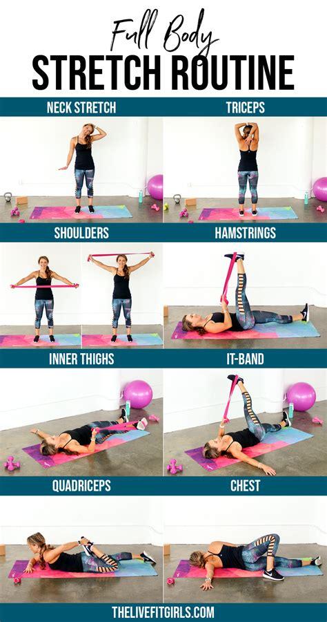 full body stretch routine daily stretch routine