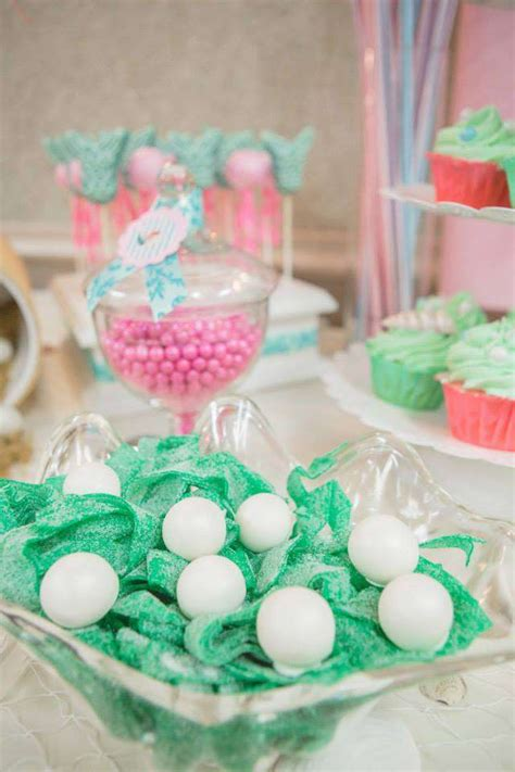 vintage mermaid baby shower ideas photo 1 of 46