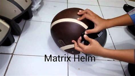 Helm Retro Classico Kaca Bogo cara memasang kaca bogo by matrix helm