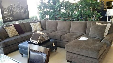 Homelife Furniture customize the fabric seat depth cushion on this cameron park sectional yelp
