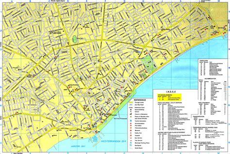 and maps limassol maps limassol area map and limassol city map