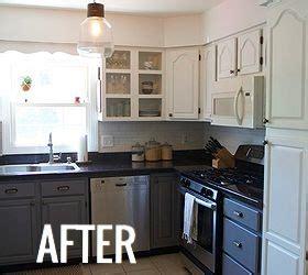 hometalk diy kitchen makeover for under 650 kitchen cabinet makeover diy everdayentropy com