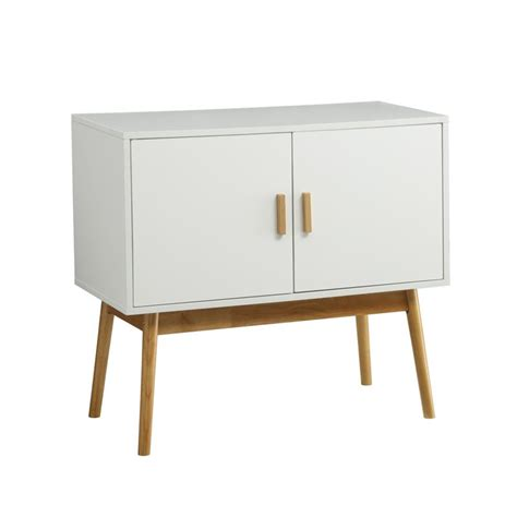White Console Table With Storage by Storage Console Table In White 203199w