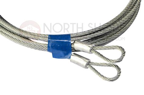 Garage Door Extension Spring Containment Kit 1 8 Quot Saftey Cable Garage Door Cable Kit