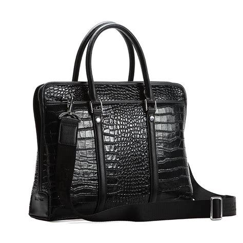 Crocodile Casual Santiago best crocodile briefcase alligator luxury briefcases for
