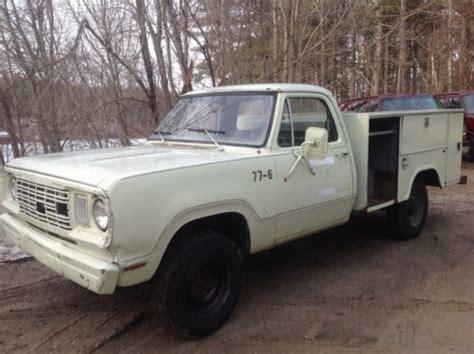 sell   dodge truck  power wagon ram