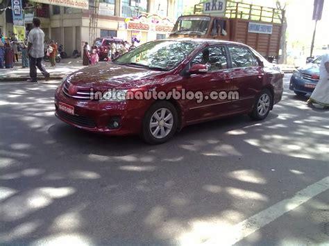Toyota Corolla Altis Price In Bangalore Spied Toyota Corolla Facelift Testing In Bangalore