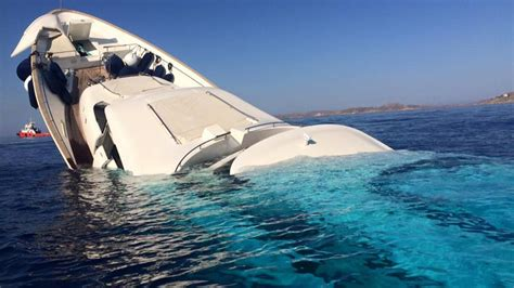 Luxury Home Interior Designers shocking photos and video of superyacht sinking off of