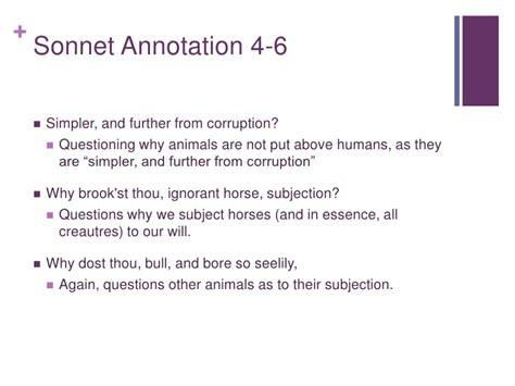 six line sonnet section holysonnetpresentation