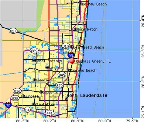 zip code map kendall florida kendall green florida fl 33064 profile population