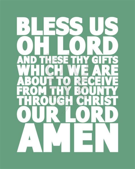 new year grace before meals meal prayer print