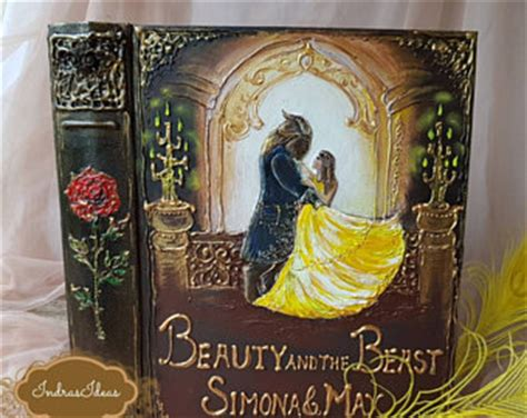 and the beast wedding etsy