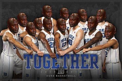 Duke Basketball Memes - duke basketball team ridiculed with crying jordan memes