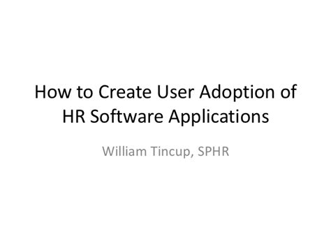 how to crate an adopted tincup how to create user adoption