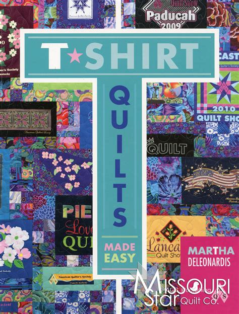 t shirt pattern book t shirt quilts made easy book american quilter s society